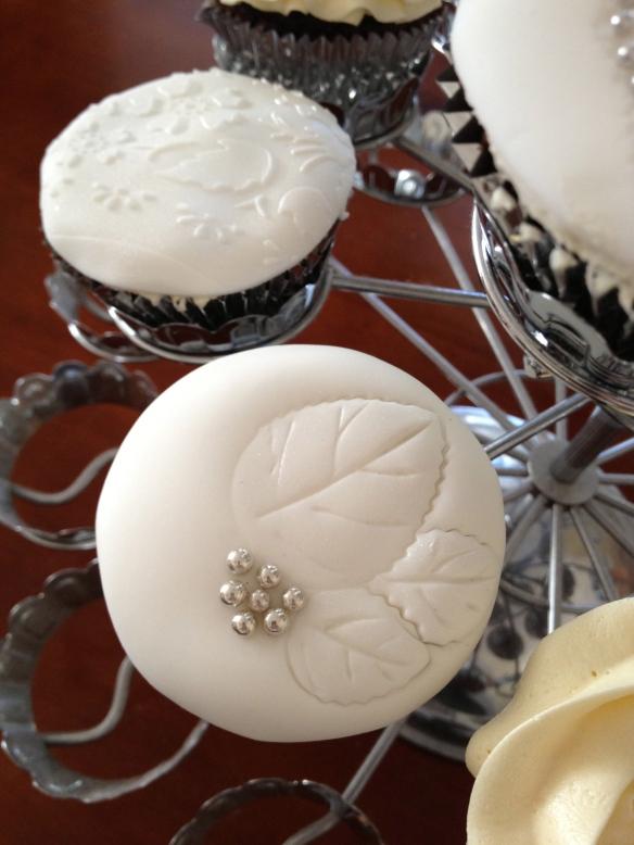 Leaf cupcakes
